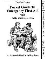 PVC Pocket Guides: Pocket Guide to Emergency First Aid by Betty Cordes and...