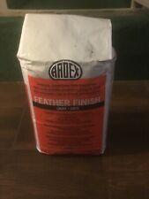 Ardex Feather Finish 10 Pound Bag Cement Based Finish Underlayment 300 Square ft