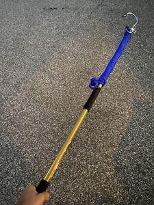 "Flying Gaff 5"" Hook Brand New Handle 5ft Handle"