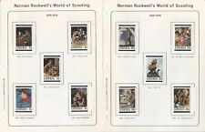 Liberia Collection, Norman Rockwell World of Scouting, Kenmore Album 1979