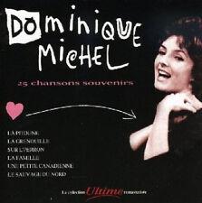 """DOMINIQUE MICHEL """"25 CHANSONS SOUVENIRS"""""""