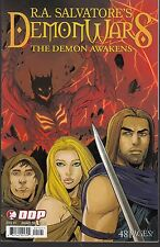 R.A, SALVATORE'S DEMON WARS #1-3 - DDP PUBLISHING - 2007