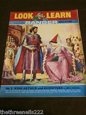 LOOK and LEARN # 286 - KING ARTHUR & GUINEVERE - JULY 8 1967