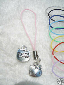 HELLO KITTY Cell Phone iPod Charm! SHIPS FAST FROM USA!