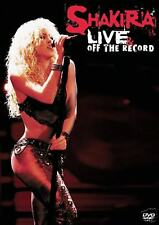 DVD SHAKIRA LIVE OFF THE RECORD [CD & DVD] 2 DISC