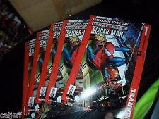 5 LOT Marvel Ultimate Spider-Man 2000 Issue  #1 Free Comic Book Day Edition MINT