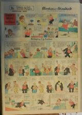Bringing Up Father Sunday by George McManus from 3/14/1937 Full Page Size!