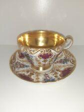 KPM Porzellan Sammeltasse Tasse ca1860! Antik KPM Porzellan Sammlerstück!Selten