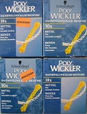 40 Stück Poly Wickler Dauerwellwickler mittel für normale Locken Lockenwickler