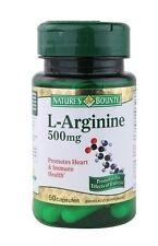 Nature's Bounty L-Arginine -- 500 mg - 50 Capsules