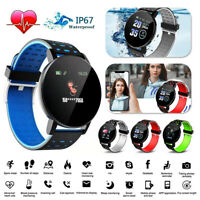Sport Smart Watch Bluetooth Heart Rate Blood Pressure Monitor Fitness Tracker US