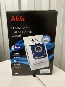 GR201S AEG ELECTROLUX Vacuum Cleaner Dust Bags - PACK OF 4 - BRAND NEW