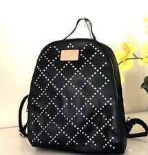 NWT BEBE Bag Women's GEMMA in Black with Rhinestones LARGE BACKPACK E07 764 $109