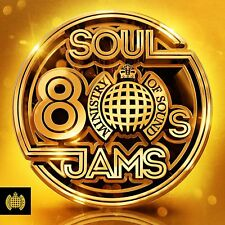 80s SOUL JAMS (Ministry of Sound) 3 CD SET (2018)