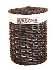Moebel direkt online Wäschekorb braun