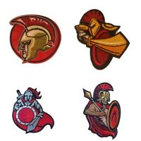Spartan Ancient Warrior - Iron On Sew On Patches Badges Transfers Fancy Dress