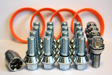 WOBBLE WHEEL BOLTS WOBBLY KIT FIT BMW WHEELS TO VIVARO + RINGS & LOCKING BOLTS