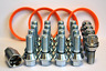 WOBBLE BOLT CONVERSION KIT FIT BMW WHEELS TO TRAFIC + RINGS & LOCKING BOLTS