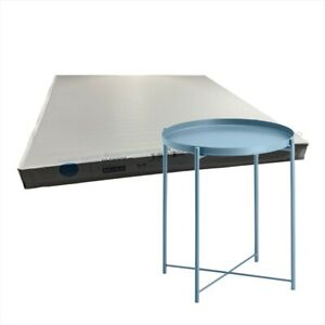 """IKEA GLADOM with removable Top Tray table, Blue, 17 1/2x20 5/8 """" BRAND NEW-"""