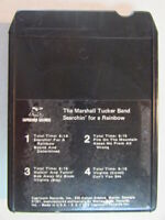 THE MARSHALL TUCKER BAND SEARCHIN' FOR A RAINBOW VINTAGE 1975 8 TRACK TAPE OOP