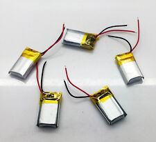 5pcs 100mAh 3.7V Li-polymer Rechargeable Baterry LI-PO ion for Bluetooth 051221