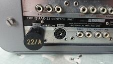 Quad II 22 Pre-amp phono adaptor. Type A  (New UK made)