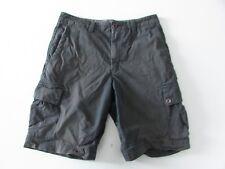 Quiksilver Mens Dark Grey / Olive Shorts Size 31