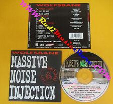 CD WOLFSBANE Massive Noise Injection 1993 Europe BRONZE  no lp mc dvd (CS11)