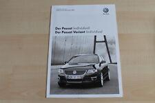 74071) VW Passat + Variant individual - Technik & Preise & Extras - Prospekt 11/
