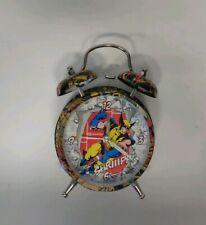 Marvel Wolverine Alarm Clock Used Working Nicely