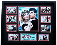 New Grease John Travolta Olivia Newton John Signed Limited Edition Memorabilia