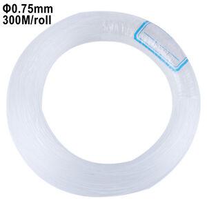 Plastic End Glow Fiber Optic Cable 0.75mm 300 Meter Decorative Ceiling LED Light