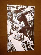 Moda e costume in Somalia negli anni '30 Acconciatura di capelli colpi di rasoio