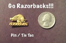 Arkansas Razorbacks LAPEL  PIN / TIE TAC   WOW!!   NCAA STOCKING STUFFER