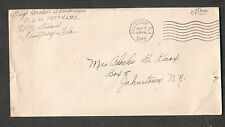 WWII cover T/Sgt Hershell Richardson Frostproof FL to NY