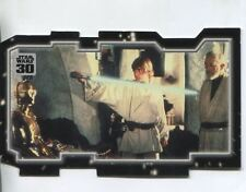Star Wars 30th Anniversary Triptych Chase Card #2 Master And Apprentice