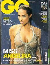 Angelina Jolie Italiano Gq Revista 2005 Brad Pitt Mclaren Girls