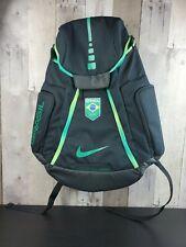 Nike Rio 16 Olympics Hoops Elite Max Air Team Backpack BRASIL Black Green SAMPLE