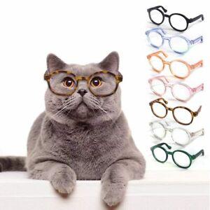 Glasses Plastic Transparent Cat Sun Glasses Dog Teddy Pet Dress Up Pet Supply