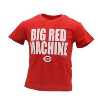 Cincinnati Reds MLB Genuine Kids & Youth Size Big Red Machine T-Shirt New Tags