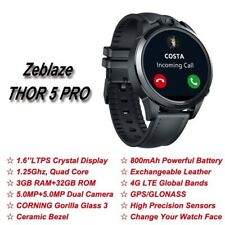 Zeblaze THOR 5 PRO GPS Bluetooth Smartwatch Dual Camera Weather For Android/iOS
