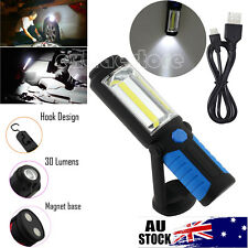 3w COB 1w LED Inspection Light Magnetic Rechargeable Flexible Working Torch Lamp
