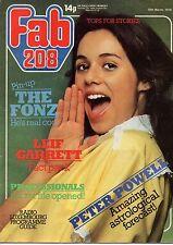 Fab 208 Magazine 25 March 1978   Leif Garrett   Martin Shaw of The Professionals