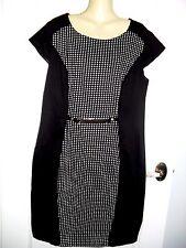 16 CLASSY DESIGNER INSPYRE SIGNATURE BLACK WORK DRESS CAP SLEEVE  BNWT $49