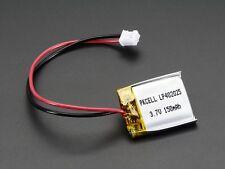 Lithium Ion Polymer Battery - 3.7v 150mAh