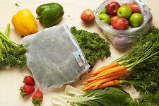 NEW Onya Set 5 Mesh Eco Reusable Produce Bags Keeps Produce Fresher