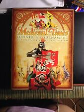 Medieval times dinner and tournament souviner commemorative program
