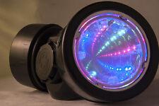 TrYptiX Cyber Goth Steampunk Light Up Gas Mask 3D RGB Burning Man EDC Ultra