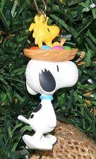Hallmark Ornament 1996 Parade Pals Peanuts Snoopy & Woodstock MIP
