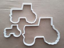 Tractor Farm Vehicle Shape Cookie Cutter Dough Biscuit Pastry Fondant Sharp